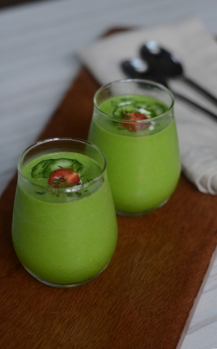Cucumber and Celery Soup 1884