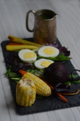Roasted Vegetable Salad 281